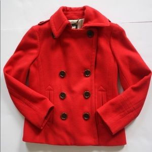 EUC J. Crew Wool Coat